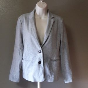 J. Crew Blazer Small sweatshirt fabric!